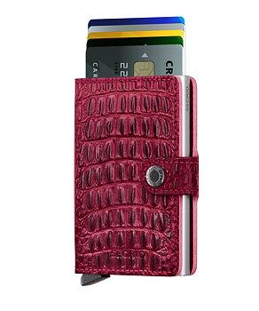 Secrid Miniwallet Nile Red Skinnplånbok