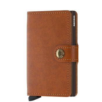 Secrid Miniwallet Original Cognac Brown Skinnplånbok