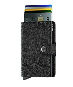 Secrid Miniwallet Crisple Black Skinnplånbok