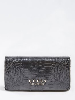 Guess Plånbok Croco Svart Los Angeles