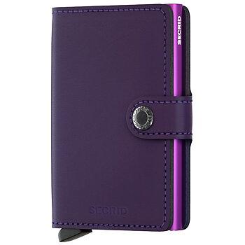 Secrid Miniwallet Matte Purple Skinnplånbok