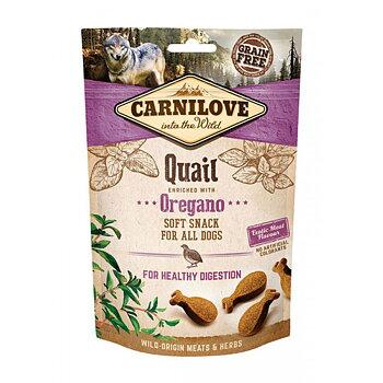 Hundgodis Semi Moist Snack Quail & Oregano Spannmålsfri- CARNILOVE