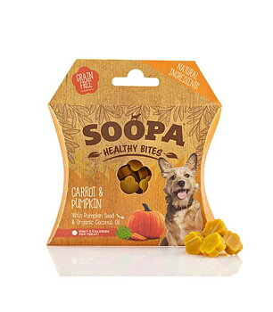 Hundgodis Healthy Bites Morot & Pumpa