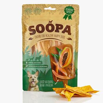 Hundgodis Soopa Papayabitar 100 gram