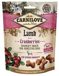 Hundgodis Crunchy Snack Lamb & Cranberries Spannmålsfri- CARNILOVE