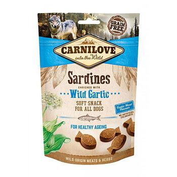 Hundgodis Semimoist  Sardines & Wild Garlic Spannmålsfri- CARNILOVE