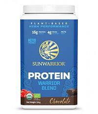 Sunwarrior Protein Warrior Blend Choklad 750 g