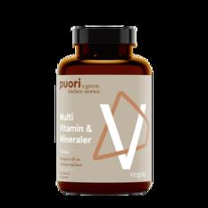 Puori V Multi Vitamin & Mineraler 60 kapslar