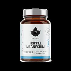 Pureness Trippel Magnesium 120 kapslar