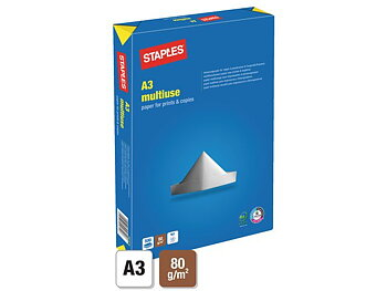 Kop.ppr STAPLES Multiuse A3 80g oh500/FP