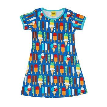 T-shirt klänning med glassar - Duns