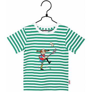 Randig t-shirt Pippi lagar mat - Pippi Långstrump