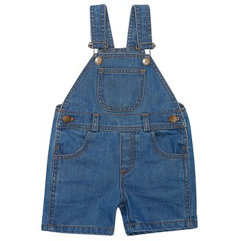 Hängsle jeansshorts - dotty dungarees
