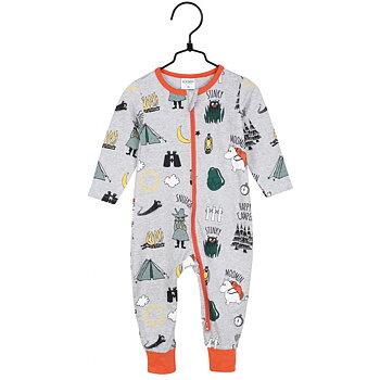 Grå pyjamas lägerliv - Mumin