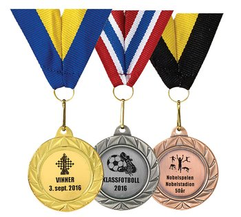 Medalj 36-51 All inclusive / 38mm