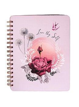 """Anteckningsbok """"Lavender Rose"""""""