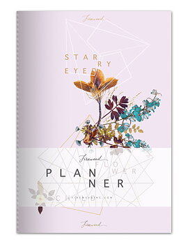 "Odaterad kalender ""Flower Child"""