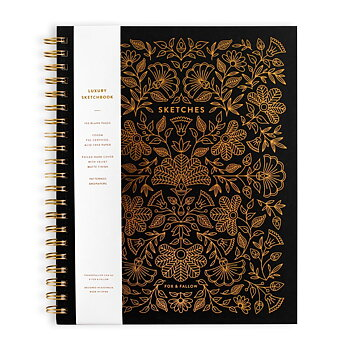 Sketchbook Black Large