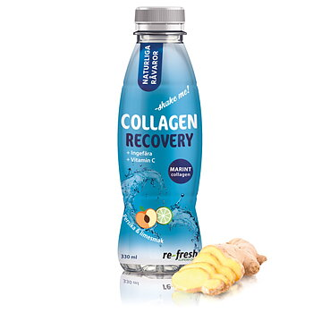 Collagen Recovery med ingefära & vitamin C, 330 ml