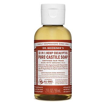 Dr Bronner's Pure Castile Liquid Soap Eucalyptus EKO 59 ml