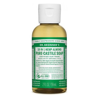 Dr Bronner's Pure Castile Liquid Soap Almond EKO 59 ml