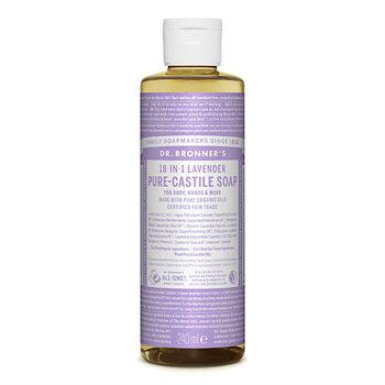 Dr Bronner's Pure Castile Liquid Soap Lavender EKO 240 ml