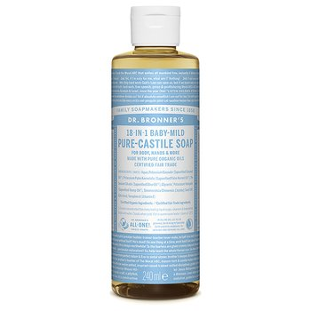 Dr Bronner's Pure Castile Liquid Soap Neutral EKO 240 ml