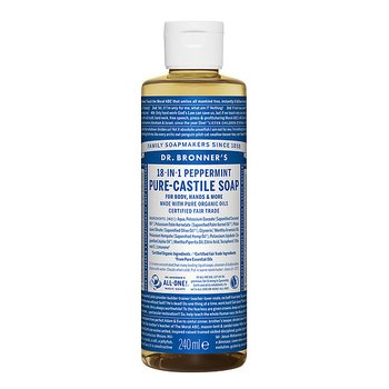 Dr Bronner's Pure Castile Liquid Soap Peppermint EKO 240 ml