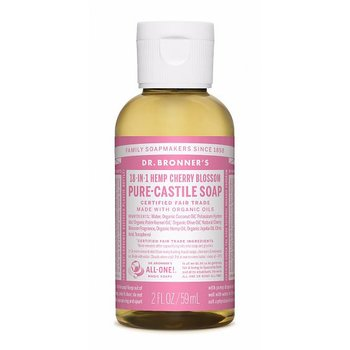 Dr Bronner's Pure Castile Liquid Soap Rose EKO 59 ml