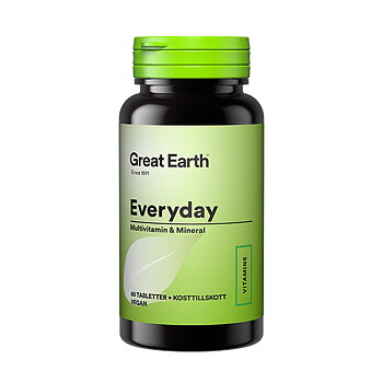 Everyday Multivitamin & Mineral  60 tabletter