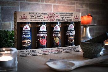 Streetfood kryddor 4 Pack – Poppamies