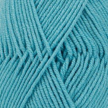 Drops Merino Extra Fine Uni Colour 43 sjöblå