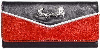 Sourpuss wallet red/BLK