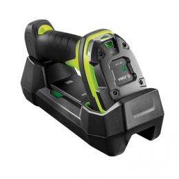 Zebra DS3678-ER, BT, 2D, ER, multi-IF, FIPS, kit (USB), black, green