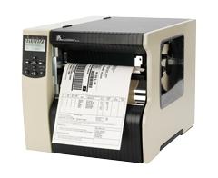 Zebra 220Xi4, 12 dots/mm (300 dpi), peeler, rewind, multi-IF, print server (ethernet)