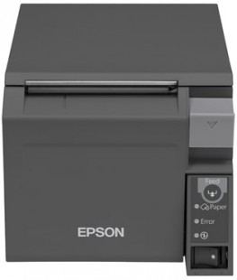 Epson TM-T70II, USB, RS232, dark grey