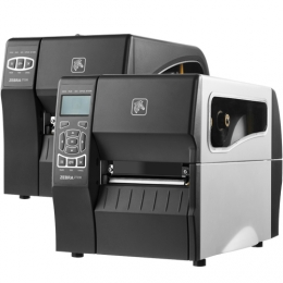 Zebra ZT230, 12 dots/mm (300 dpi), peeler, display, ZPLII, USB, RS232
