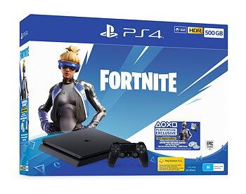 Sony PlayStation 4 (PS4) Slim 500GB Fortnite Bundle