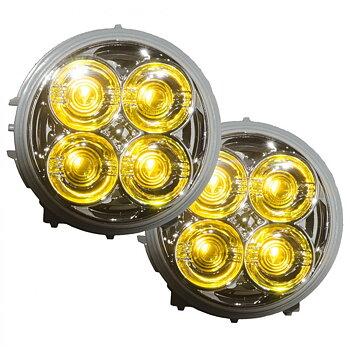 LEDSON DRL-insats för Scania 4 och R-serie (Gul, ett par)