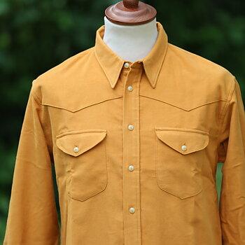 Indigofera - Manolito Shirt, Moleskin, Sunset