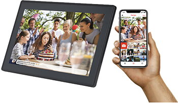 "Denver 15,6""Smart photoframe Svart"