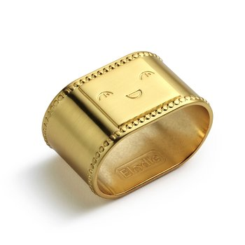Elodie Details Napkin Ring - Matt gold/Brass