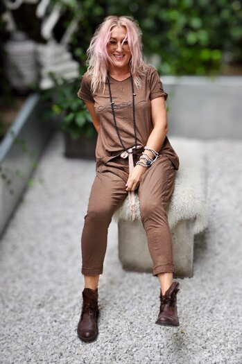 LOVE TOP BAMAKO BROWN