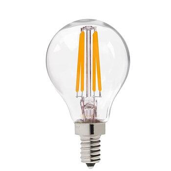 LED-lampa GE E14 Klot Klar ej dimbar