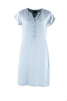 Zilch himmelsblå klänning i Tencel