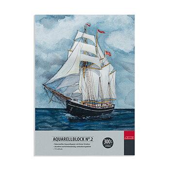 AMI Akvarellblock 300gr 24x32cm 20ark