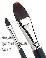 Syntetpensel Filbert Stl10 9,5mm