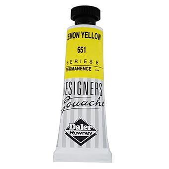 Gouachefärg Daler-Rowney Lemon Yellow 661 15 ml