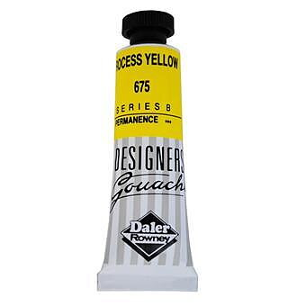 Gouachefärg Daler-Rowney Process Yellow 675 15 ml