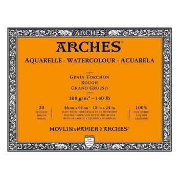 Arches Akvarellblock Grov Gräng 300gr 46x61cm 20 ark